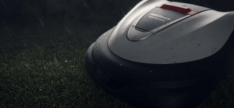 Honda Miimo robotklipper er vanntett
